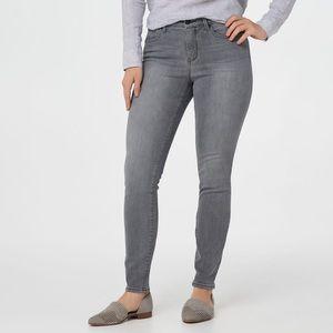 NYDJ Ami Skinny Grey Jeans Tummy Tuck